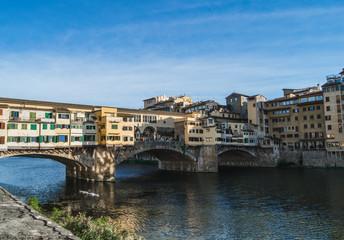 Ponte Vecchio over Arno river. Florence, Italy  © tasha