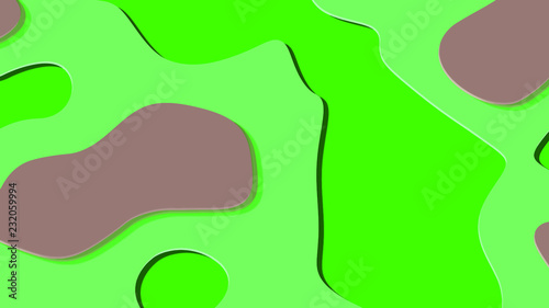 Background in paper style. Abstract colorful background. - 232059994