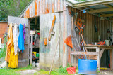 Old farm shed - 232060111