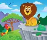 Lion theme image 3 - 232069336