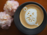 cute latte art  - 232080918
