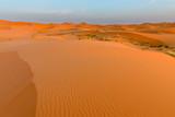 Sand dunes in the Sahara Desert, Merzouga, Morocco - 232081763