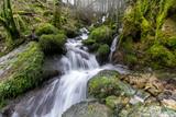 Wasserfall in Frankreich / Langzeitbelichtung