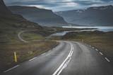strada tortuosa islanda