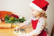 Leinwanddruck Bild - christmas baking