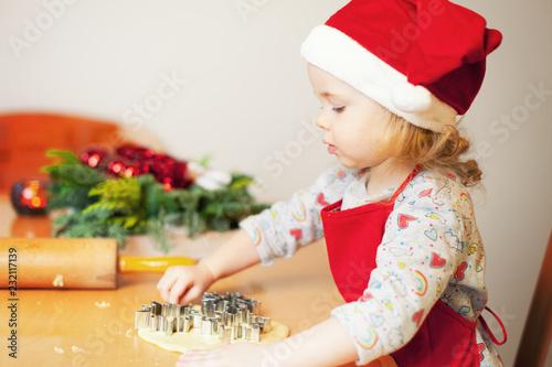 Leinwanddruck Bild christmas baking