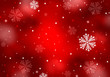 Abstract winter background, christmas greeting card.