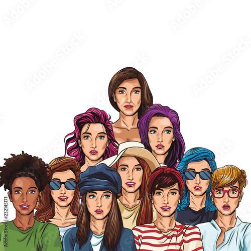 Pop art women