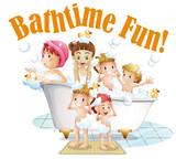 People taking a bath - 232146793