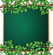 Wooden tree branch frame - 232147185
