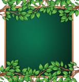 Wooden tree branch frame - 232147185