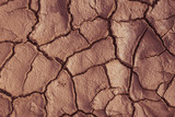 Cracks texture ground surface soil, dried clay, drought - 232149104