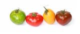 Différentes variétés de tomates © hcast