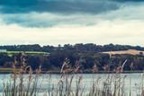 Picturesque panorama of Linlithgow Loch in Linlithgow in Scotland, - 232156116