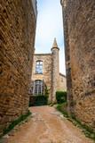 Village médiéval de Bruniquel en Occitanie, France - 232162153