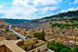 panorama of modica seen from the bell tower of San Giorgio sicily italy - 232168373