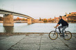 Leinwanddruck Bild - It's a great day to ride