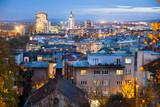 Aerial view of Brno, Czech Republic - 232191378