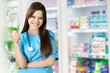 Leinwanddruck Bild - Attractive young female doctor