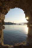 Naoussa village and harbor - Aegean Sea - Paros Cyclades island - Greece - 232197524