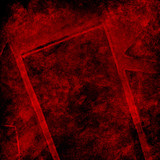 Abstract Red Background Texture - 232208140