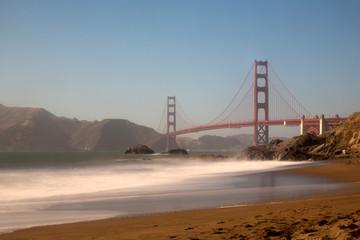 golden gate bridge in san francisco © sangwon