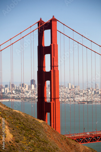 golden gate bridge in san francisco - 232218555