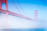 The Fog view at Golden Gate Bridge
