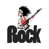 Rock symbol design - 232234906