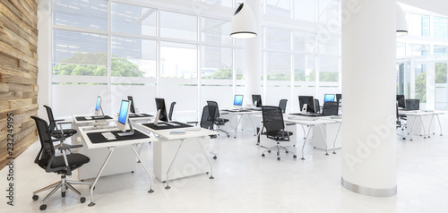 Wall mural Modern Office Conception 03 (panoramic)