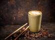 Leinwanddruck Bild - Spice chai latte