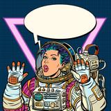 Woman astronaut Girls 80s - 232256928