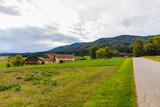 Way to a German village, Bavaria. - 232268340