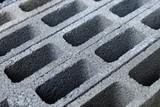 closeup cement block - 232270378