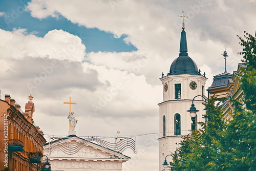 Vilnius Lithuania Gediminas area