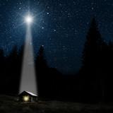 7334003 star indicates the christmas of Jesus Christ.
