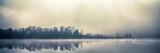 Mist fall lake in Kyiv, Ukraine 2018 - 232305731