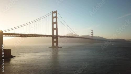 Golden Gate Bridge_San Francisco_California_Drone_USA