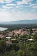 view of Sardinian coast city - 232324151