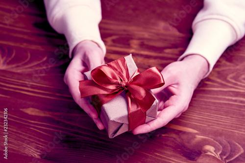hands holding craft gift box © fox17
