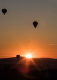 Balloon in the sunset - 232353728