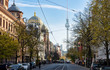 Berlin -  Synagoge in der Oranienburger Straße und Alex