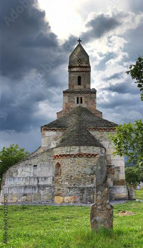 Densus church, oldest church in Romania