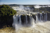 View of the Iguazu Falls, one of the Natural Seven Wonders of the World