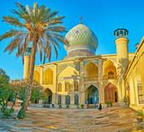 Panorama of Imamzadeh Ali Ibn Hamzeh Holy Shrine, Shiraz, Iran