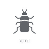 Beetle icon. Trendy Beetle logo concept on white background from animals collection