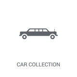 Car collection icon. Trendy Car collection logo concept on white background from Luxury collection