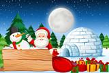 Christmas night with santa - 232400752