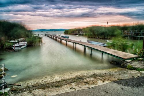 Acrylglas Pier Woda