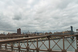 View of New York from the Brooklyn bridge - 232433127